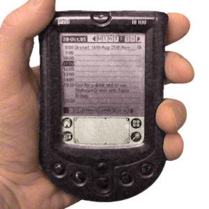 Palm M-100 PDA circa 2000